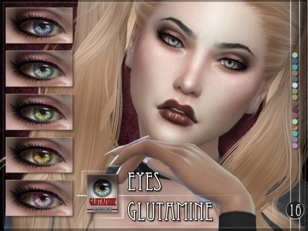 Sims 4 Glutamine Eyes by RemusSirion at TSR