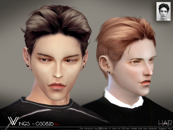 Hair OS0826 by wingssims at TSR image 2140 Sims 4 Updates