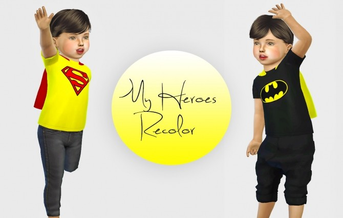 My Heroes Requires Toddler Stuff Pack at Simiracle image 2153 670x427 Sims 4 Updates