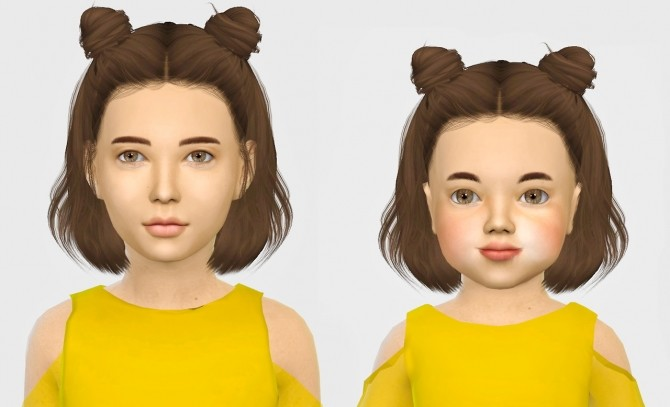Leahlillith Layla Hair Kids Amp Toddlers At Simiracle 187 Sims