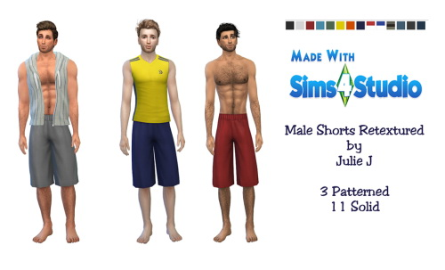 Male Long Shorts Retextured at Julietoon – Julie J image 227 Sims 4 Updates