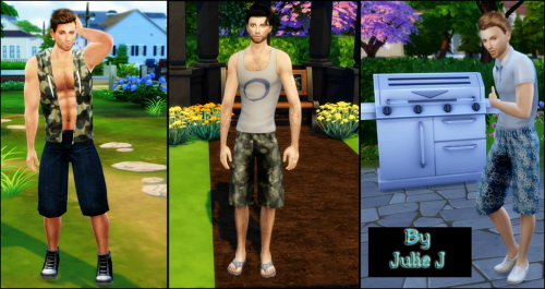 Male Long Shorts Retextured at Julietoon – Julie J image 228 Sims 4 Updates