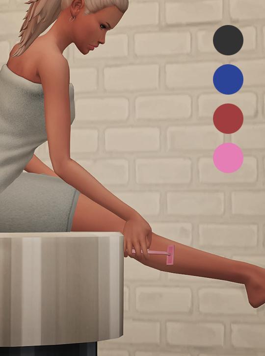Sims 4 Razor acc at Soloriya