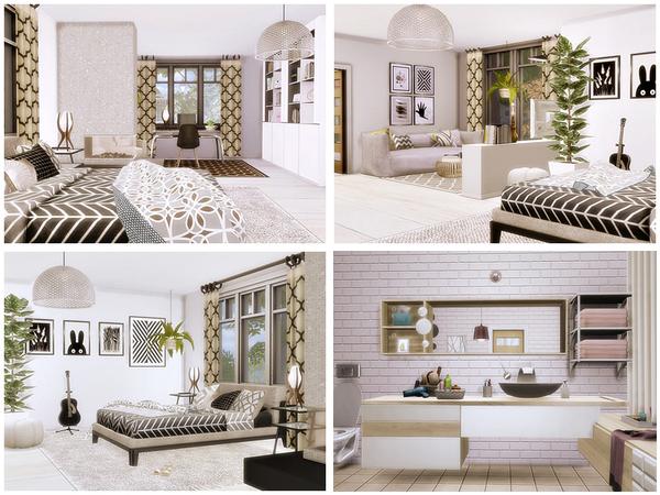 Scandinavian II house by Danuta720 at TSR image 2316 Sims 4 Updates
