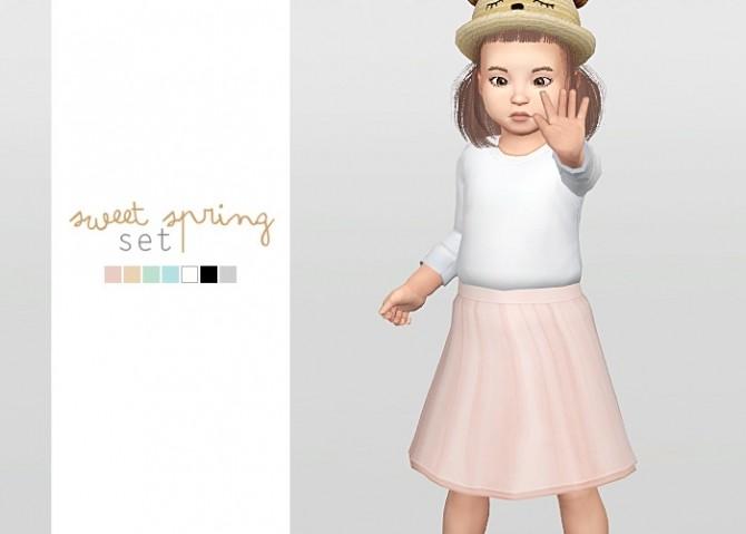 Sims 4 Sweet Spring Set at Waekey