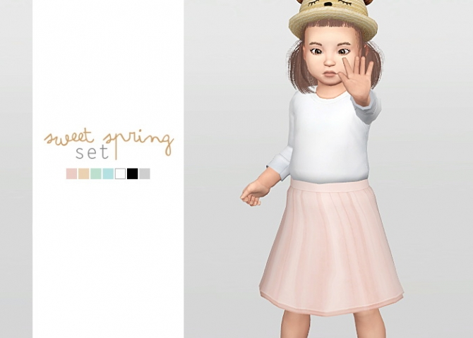 Sweet Spring Set At Waekey 187 Sims 4 Updates
