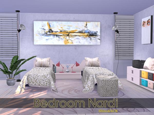 Bedroom Nardi by ShinoKCR at TSR image 235 Sims 4 Updates