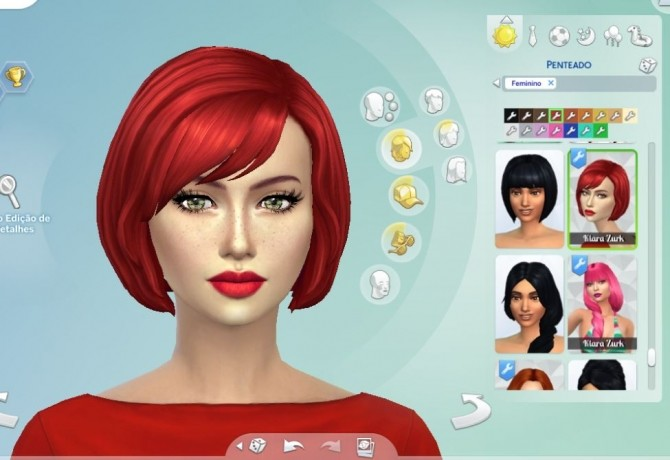 Layla Hair at My Stuff » Sims 4 Updates