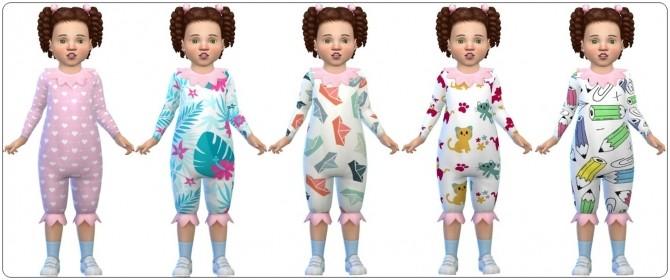 Sims 4 Cute Bodysuits at Annett's Sims 4 Welt
