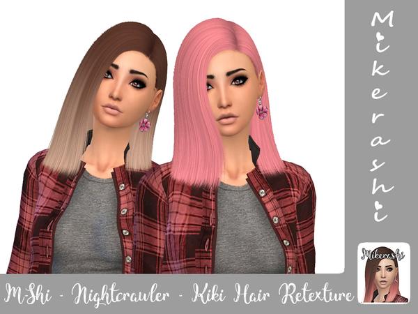 Nightcrawler Kiki Hair Retexture by mikerashi at TSR image 2513 Sims 4 Updates
