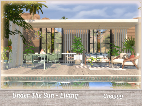Under The Sun Living by ung999 at TSR image 2526 Sims 4 Updates
