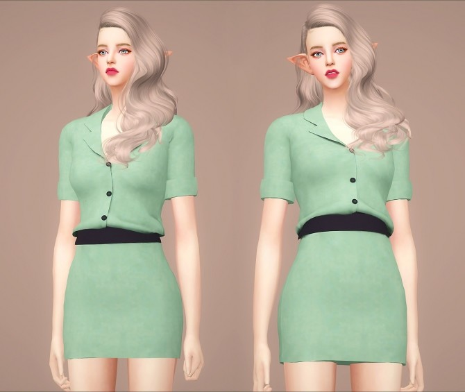 F Tara onepiece at Meeyou image 258 670x565 Sims 4 Updates
