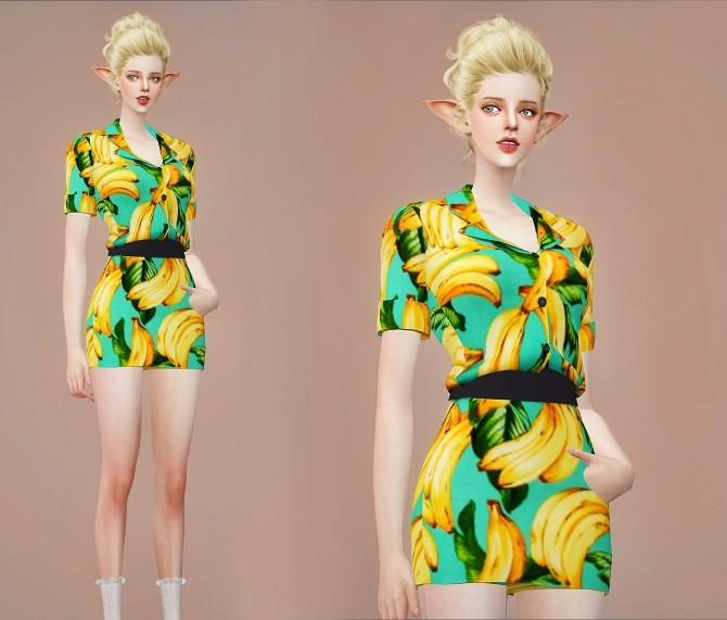 F Tara onepiece at Meeyou image 259 670x571 Sims 4 Updates