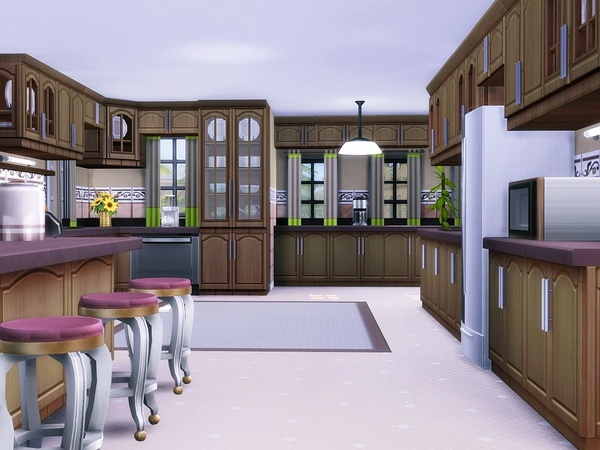 Lavender Hill house by MychQQQ at TSR image 2615 Sims 4 Updates