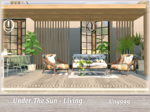 Under The Sun Living by ung999 at TSR image 2625 Sims 4 Updates