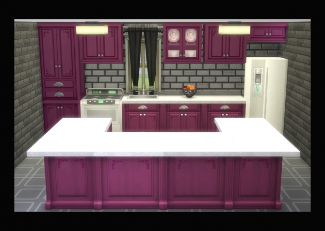 Modern Victorian Cabinet And Counters Recolours By