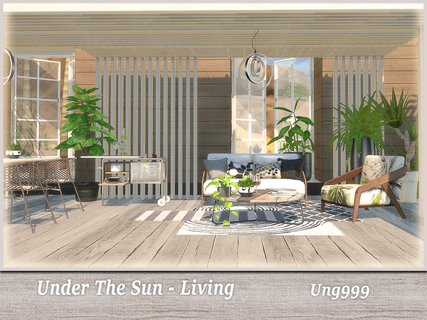 Under The Sun Living by ung999 at TSR image 2726 Sims 4 Updates