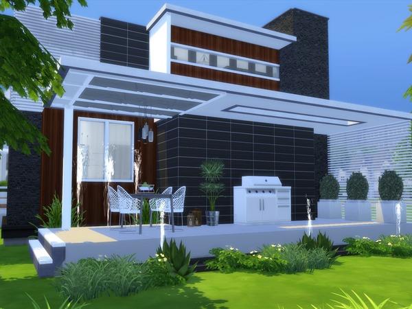 Modern Nitara house by Suzz86 at TSR image 2727 Sims 4 Updates