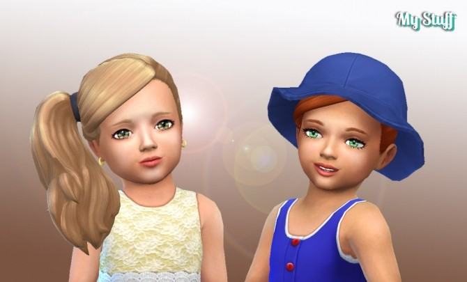 Side Ponytail for Toddlers at My Stuff image 2751 670x405 Sims 4 Updates