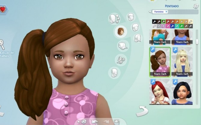 Side Ponytail for Toddlers at My Stuff image 2771 670x418 Sims 4 Updates