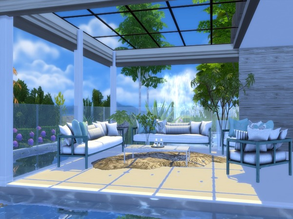 Sims 4 Modern Salix house by Suzz86 at TSR