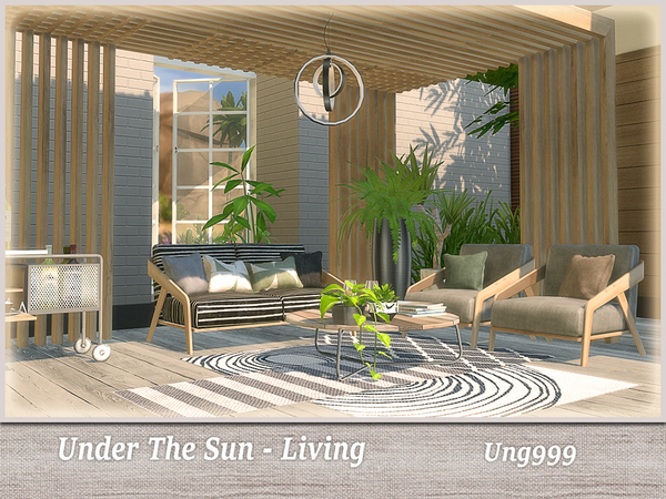 Under The Sun Living by ung999 at TSR image 2924 Sims 4 Updates