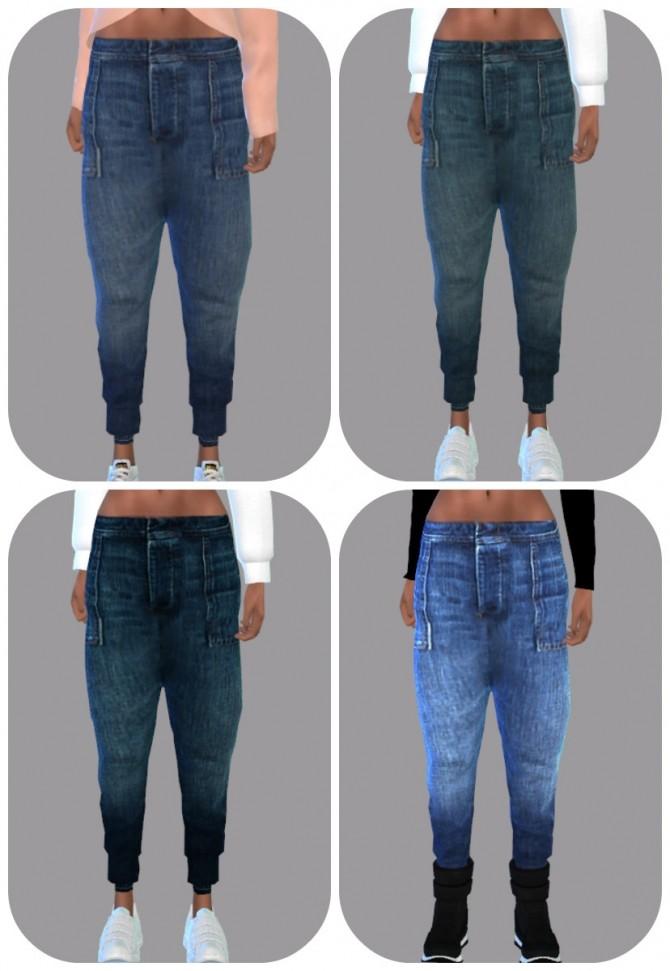 Baggy Pants at Teenageeaglerunner » Sims 4 Updates