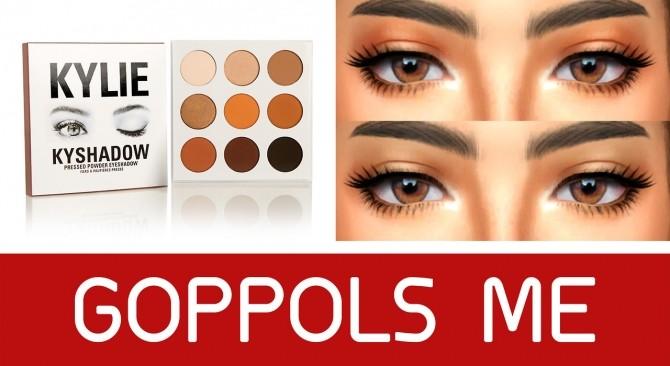 Pressed powder eyeshadow at GOPPOLS Me image 299 670x366 Sims 4 Updates