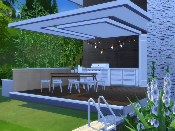 Modern Linnel by Suzz86 at TSR image 3016 Sims 4 Updates