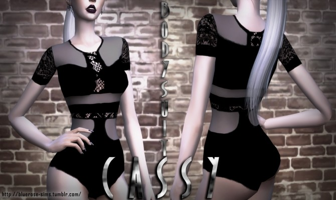 BodySuit Cassy (Top and Acc) at BlueRose Sims image 311 670x400 Sims 4 Updates