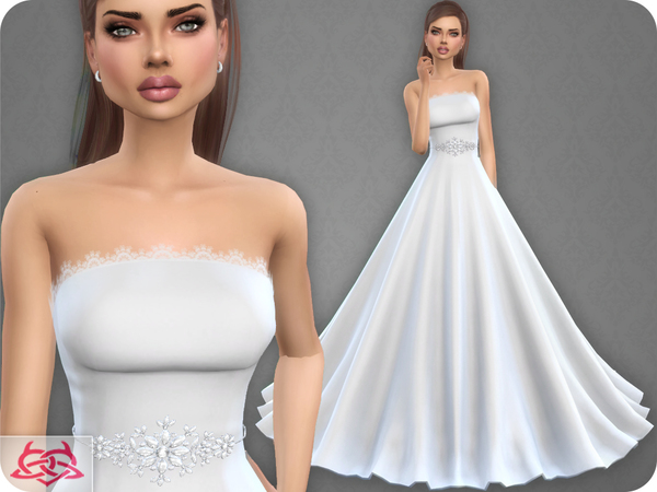 Wedding Dress 9 by Colores Urbanos at TSR image 3114 Sims 4 Updates