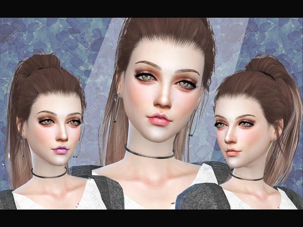 Sims 4 Natural Lipsticks B02 by CelineNguyen at TSR