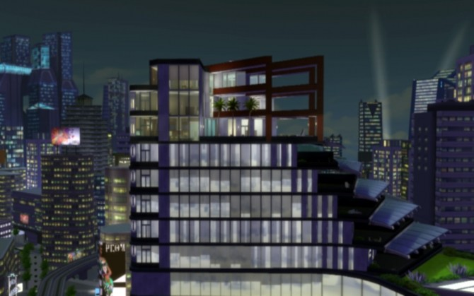 Sims 4 Precinct Residences by tobytoblerone at Mod The Sims