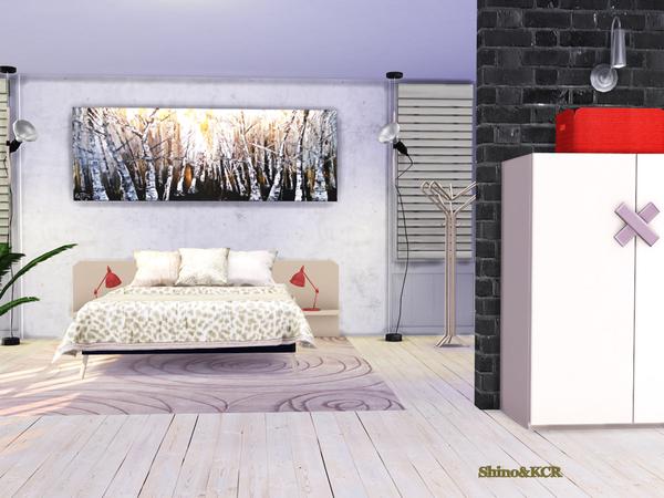 Bedroom Nardi by ShinoKCR at TSR image 315 Sims 4 Updates