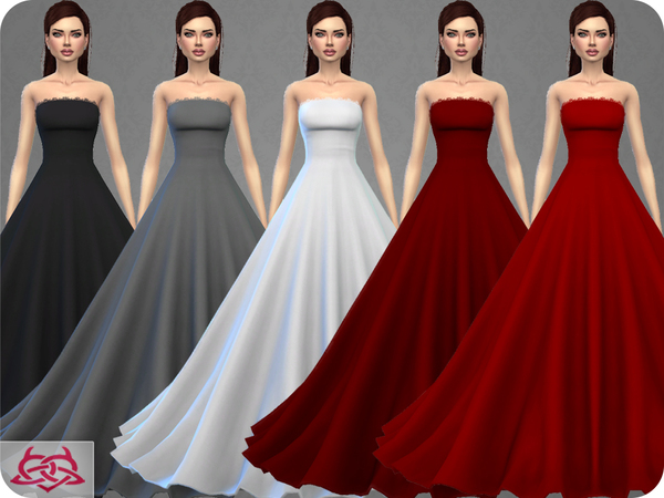 Wedding Dress 9 by Colores Urbanos at TSR image 3210 Sims 4 Updates