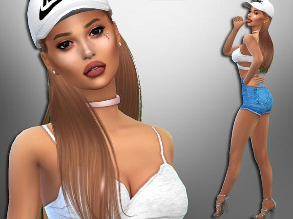 Sims 4 Gabriela Suarez by divaka45 at TSR