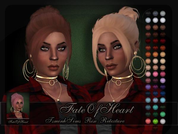 TsminhSims Rise Retexture by FateOfHeart at TSR image 322 Sims 4 Updates