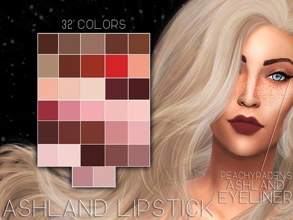 Ashland Matte Lipstick by Prxnce at TSR image 329 Sims 4 Updates