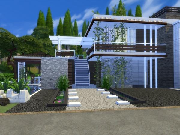 Niljana modern home by Suzz86 at TSR image 3320 Sims 4 Updates