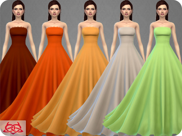 Wedding Dress 9 by Colores Urbanos at TSR image 338 Sims 4 Updates
