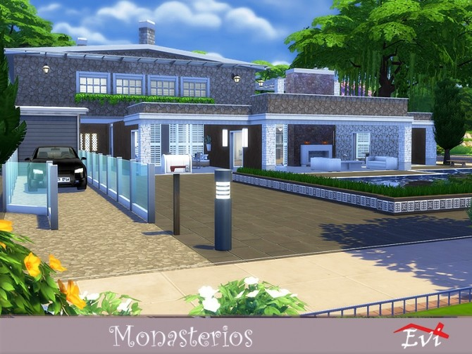 Monasterios by evi at TSR image 3412 670x503 Sims 4 Updates