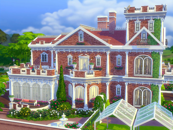 Sims 4 Elizabeth family home by sharon337 at TSR