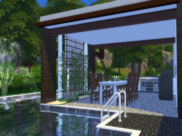 Niljana modern home by Suzz86 at TSR image 3519 Sims 4 Updates
