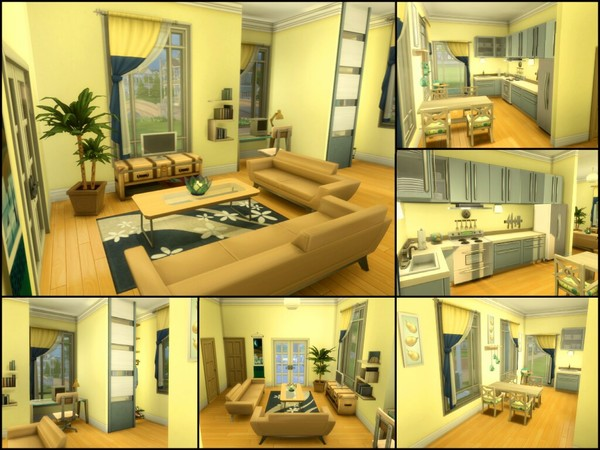 Sims 4 Gumdrop home by sparky at TSR