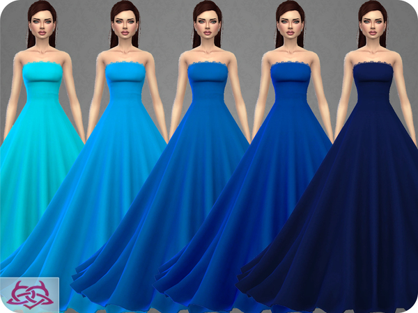 Wedding Dress 9 by Colores Urbanos at TSR image 357 Sims 4 Updates