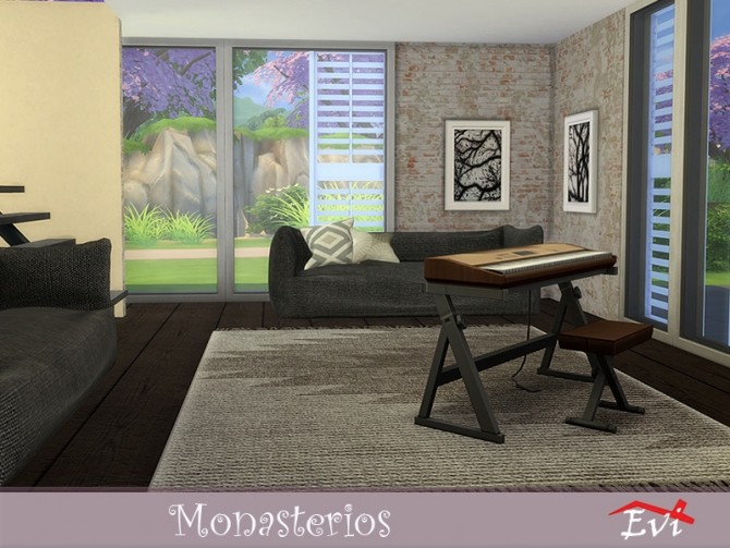 Sims 4 Monasterios by evi at TSR