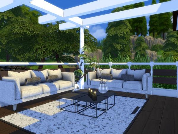 Niljana modern home by Suzz86 at TSR image 3618 Sims 4 Updates