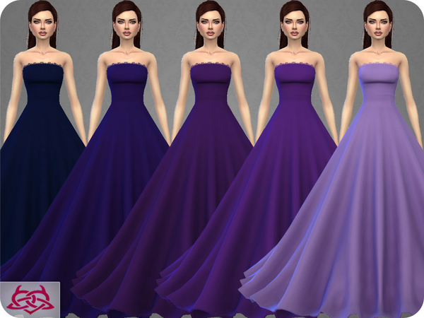 Wedding Dress 9 by Colores Urbanos at TSR image 367 Sims 4 Updates