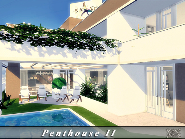 Sims 4 Penthouse II by Danuta720 at TSR
