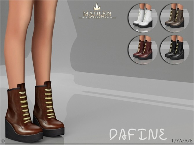 Madlen Dafine Shoes y MJ95 at TSR image 3710 670x503 Sims 4 Updates